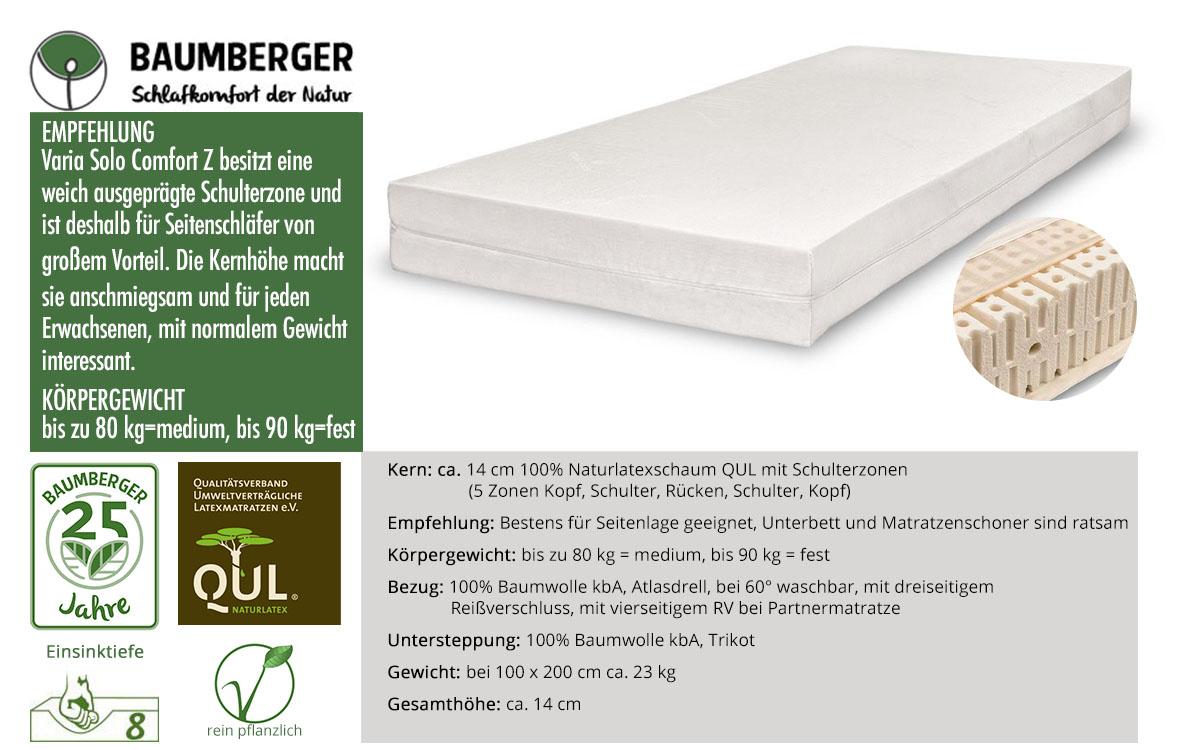 Baumberger-Varia-Solo-Comfort-Z-Naturlatexmatratze-online-bestellen