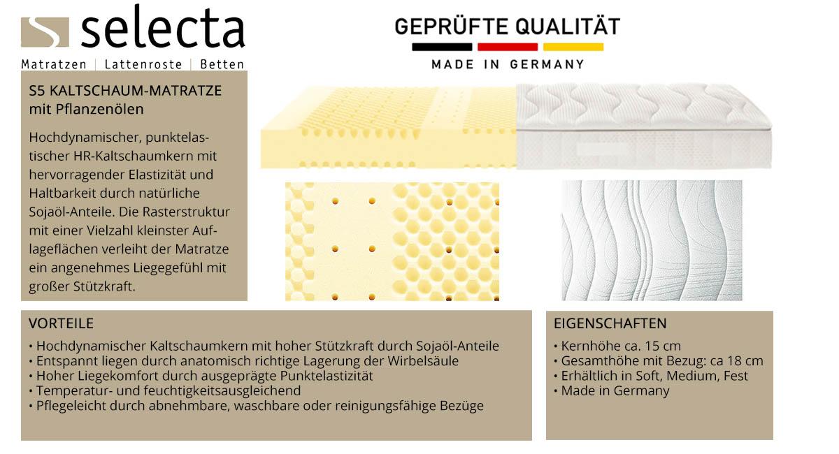 Selecta-S5-Kaltschaum-Matratze-online-kaufen