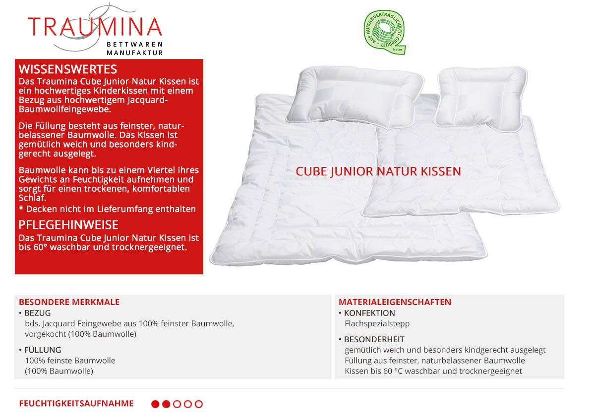 Traumina-Cube-Junior-Natur-Kissen-online-kaufen