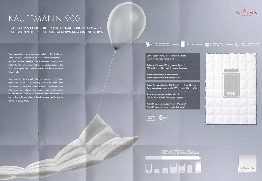 Kauffmann-900-Daunendecke-Produktmerkmale