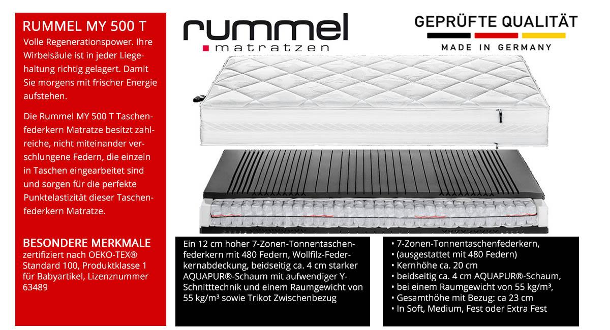 Rummel-MY-500-T-Taschenfederkernmatratze-online-kaufen