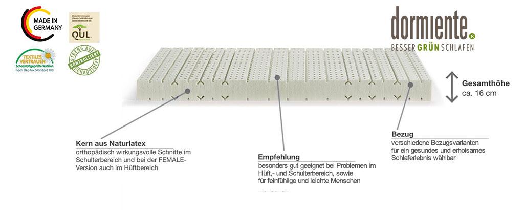 Dormiente-Natural-Basic-Z7-Male-Latexmatratze-Produktmerkmale-und-Details