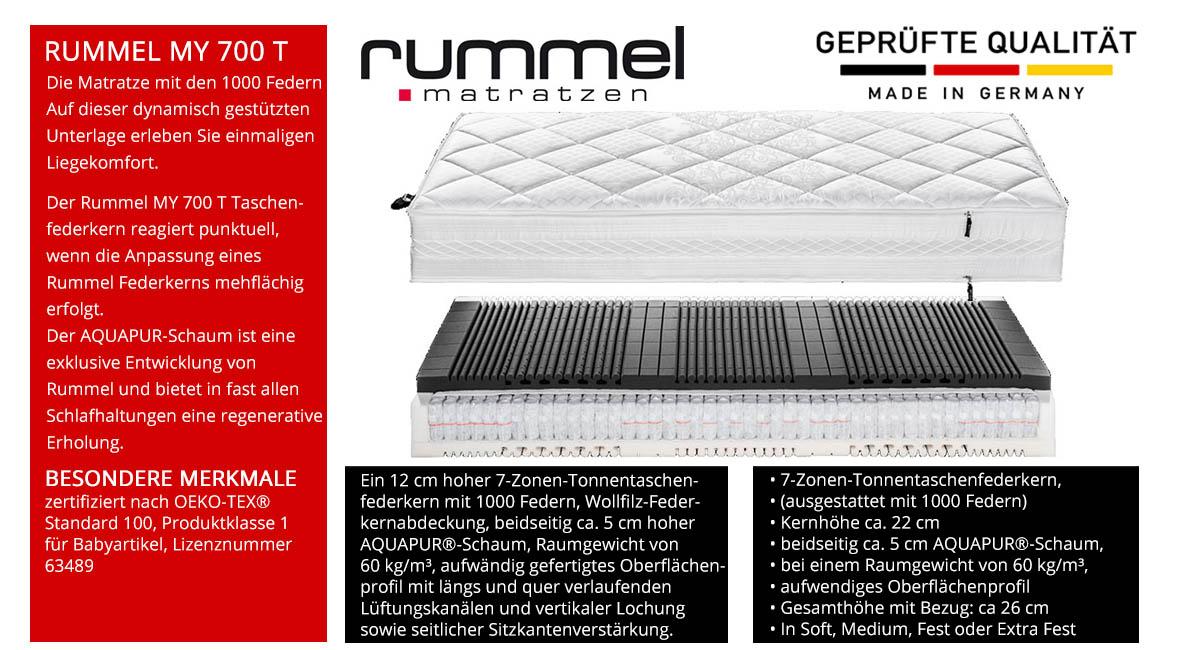 Rummel-MY-700-T-Taschenfederkernmatratze-online-kaufen