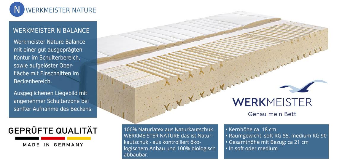 Werkmeister-Nature-Balance-Naturlatexmatratze-100-Tage-testen