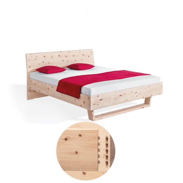 Dormiente Massivholzbett Pinar