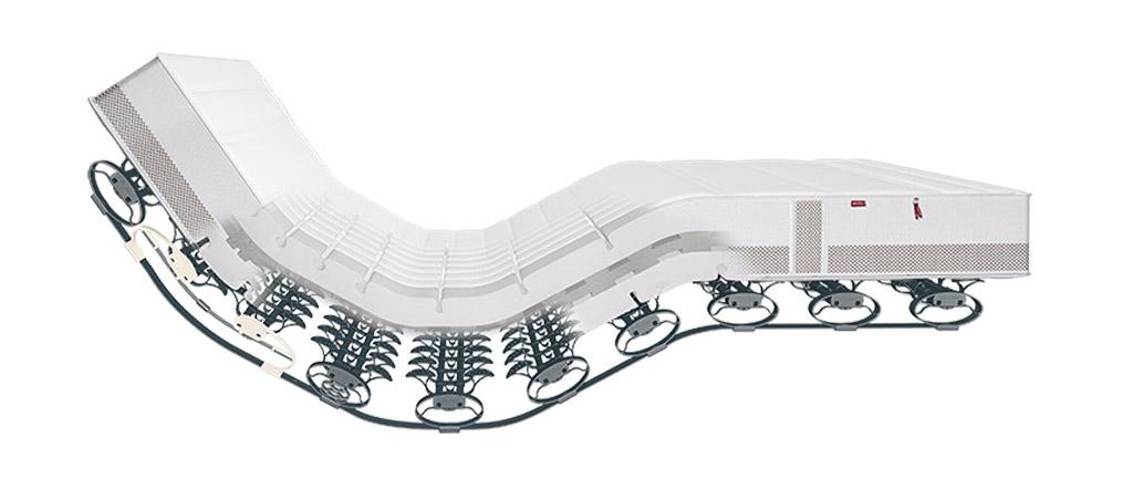 Lattoflex-Senioren-Kaltschaummatratze-Abbildung-Standard-Supermodel-Thevo-Kern-flach