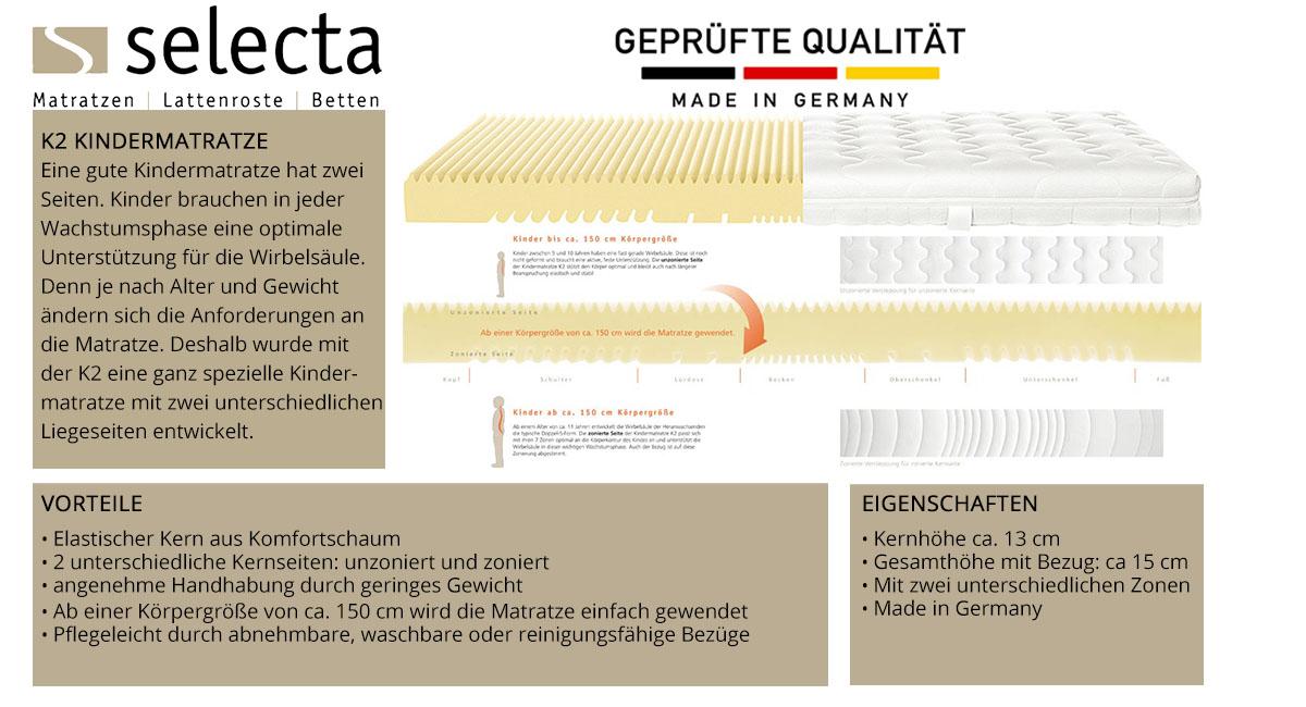 Selecta-K2-Kindermatratze-online-kaufen