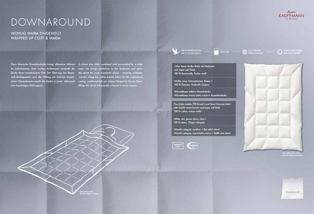 Kauffmann-Downaround-Daunendecke-Produktmerkmale