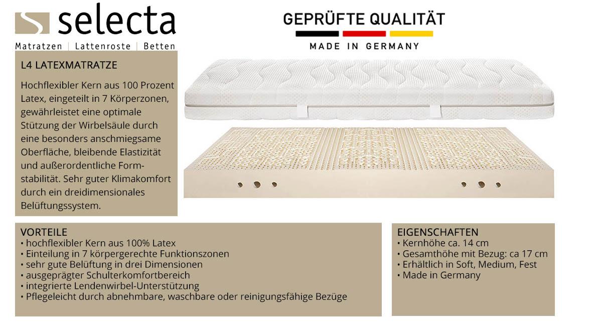 Selecta-L4-Latex-Matratze-online-kaufen