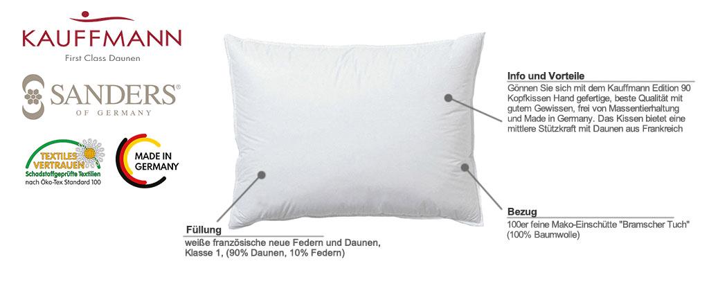 Kauffmann-Sanders-Edition-90-Kopfkissen-Produktmerkmale