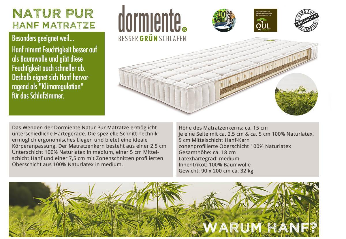 Dormiente-Natur-Pur-Classic-Hanf-Matratze-online-kaufen