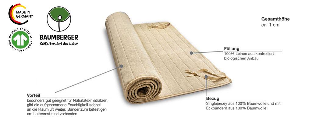 Baumberger-Leinenschoner-Produktmerkmale-Details