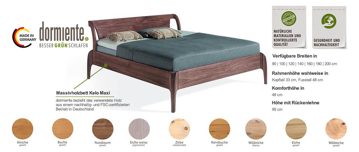 Dormiente-Massivholzbett-Kelo-Maxi-Produktmerkmale