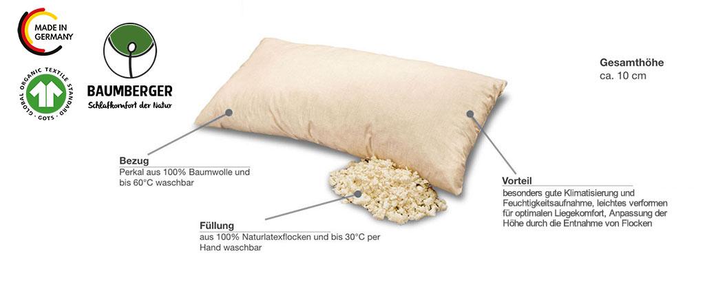 Baumberger-Latexflocken-Kissen-Produktmerkmale-Details