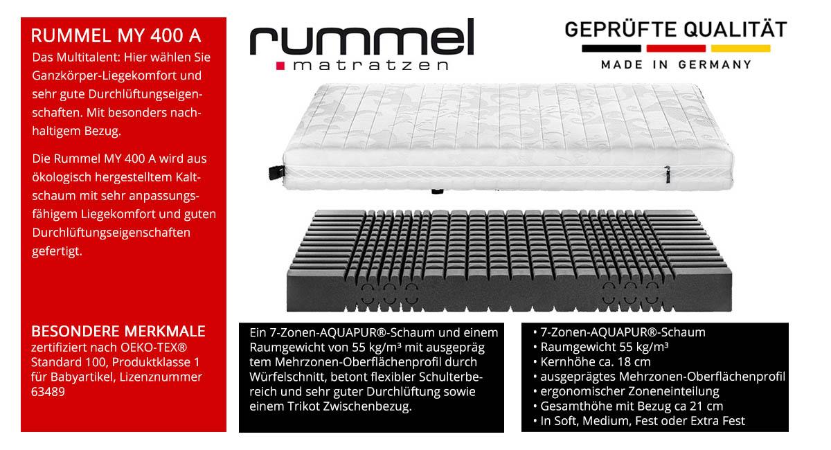 Rummel-MY-400-A-Schaummatratze-online-kaufen