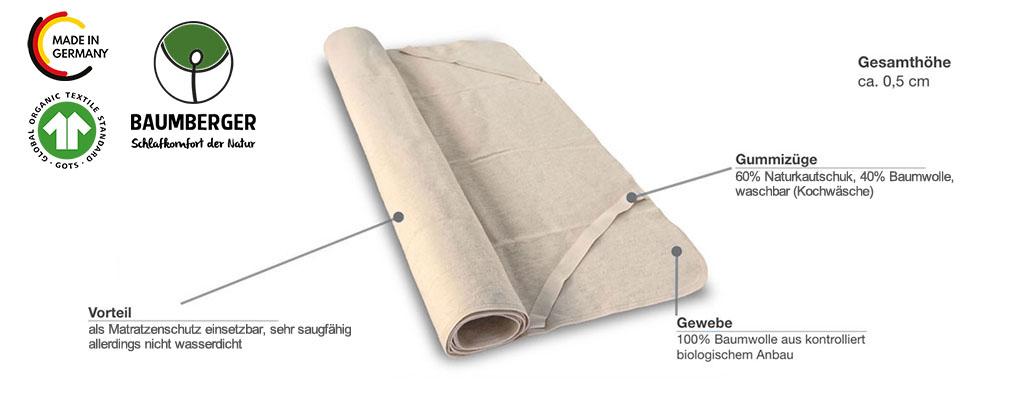 Baumberger-Molton-Auflage-Produktmerkmale-Details