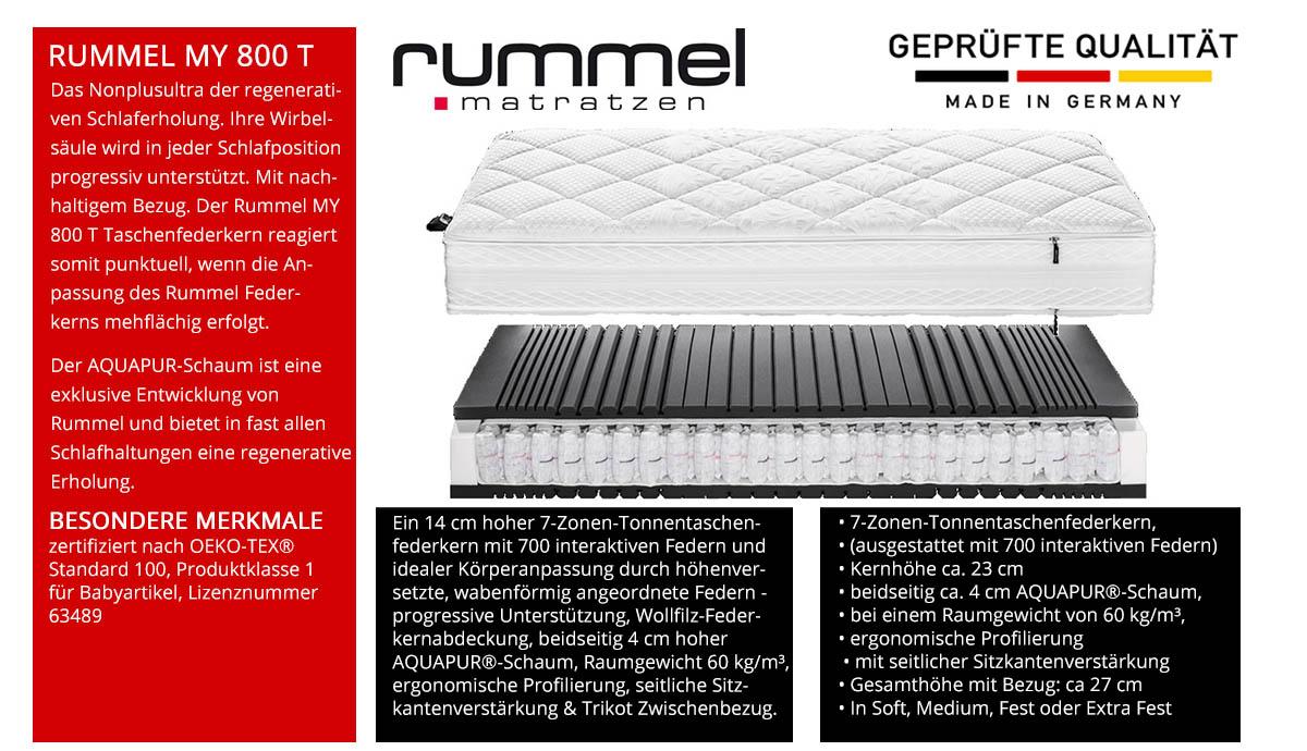 Rummel-MY-800-T-Taschenfederkernmatratze-online-kaufen