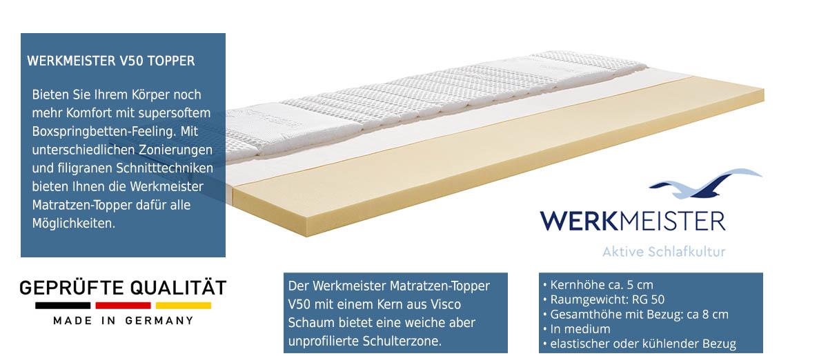 Werkmeister-Matratzentopper-V-50-online-kaufen-und-testen