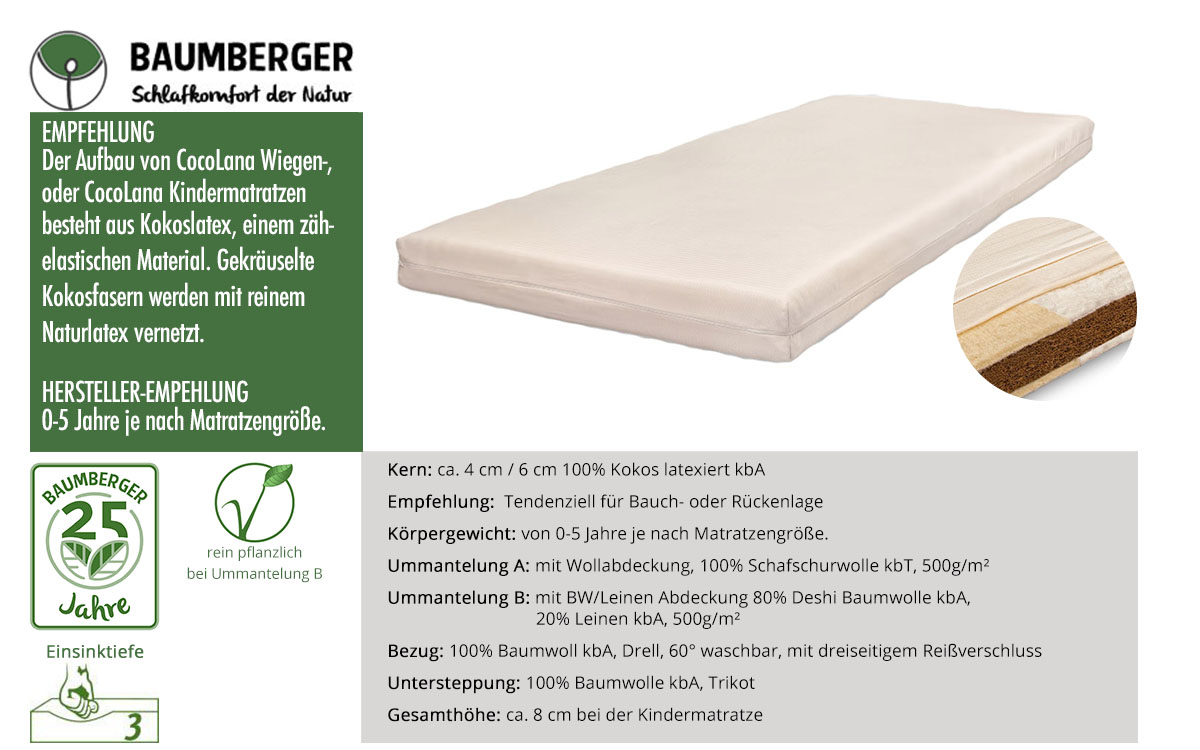 Baumberger-Cocolana-Kindermatratze-online-kaufen