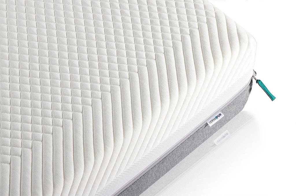 Dermapur-Premium-Plus-Visco-Matratze-Abbildung-Detailansicht-Bezug