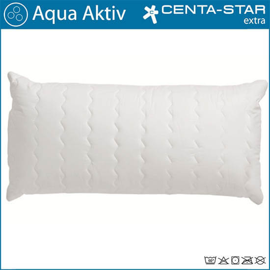 Centa-Star-Aqua-Aktiv-Kopfkissen-gesteppt-40x80-Detailansicht