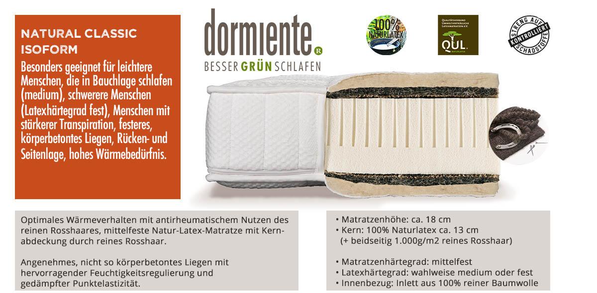 Dormiente-Natural-Classic-Isoform-online-bestellen