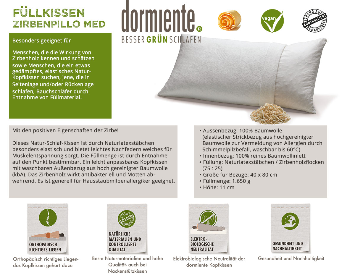 Dormiente-Naturkopfkissen-Zirbenpillo-Med-online-bestellen