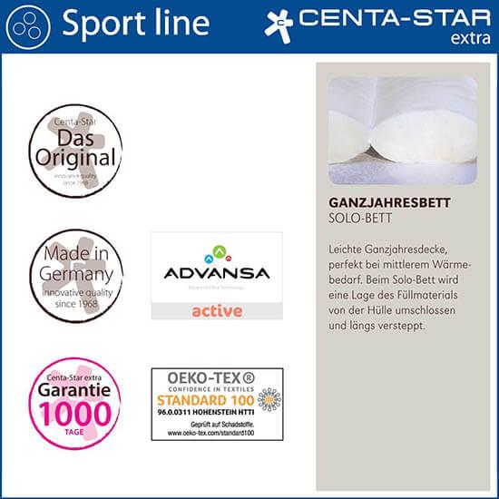 Centa-Star-Sport-Line-Ganzjahresbett-Solo-Bett-Qualitaetsmerkmale