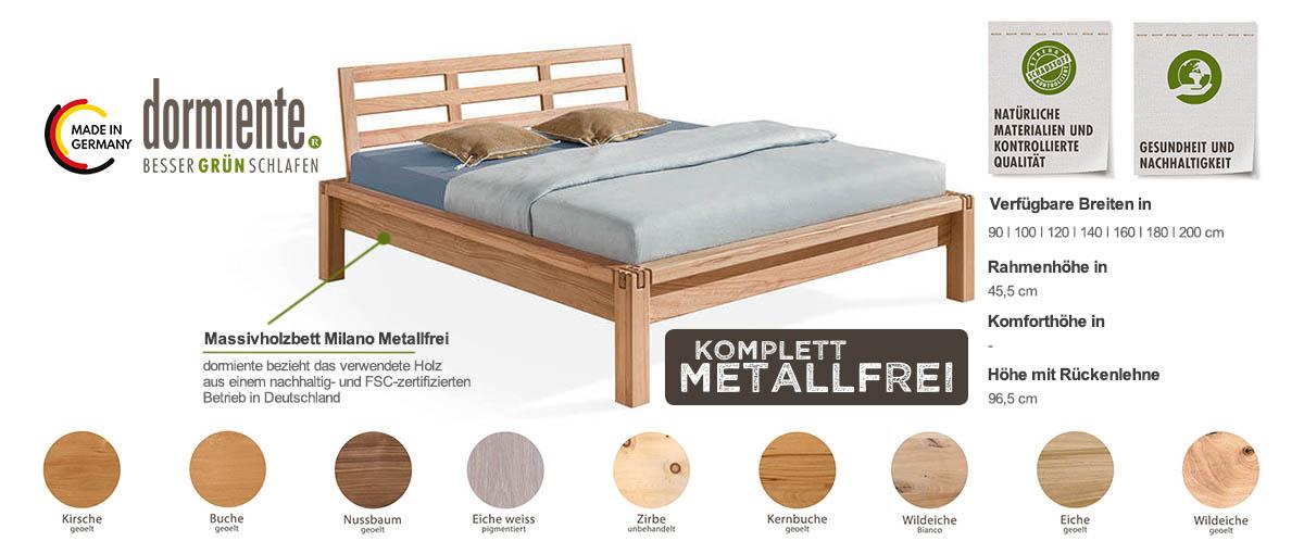 Dormiente-Massivholzbett-Milano-Metallfrei-Produktmerkmale