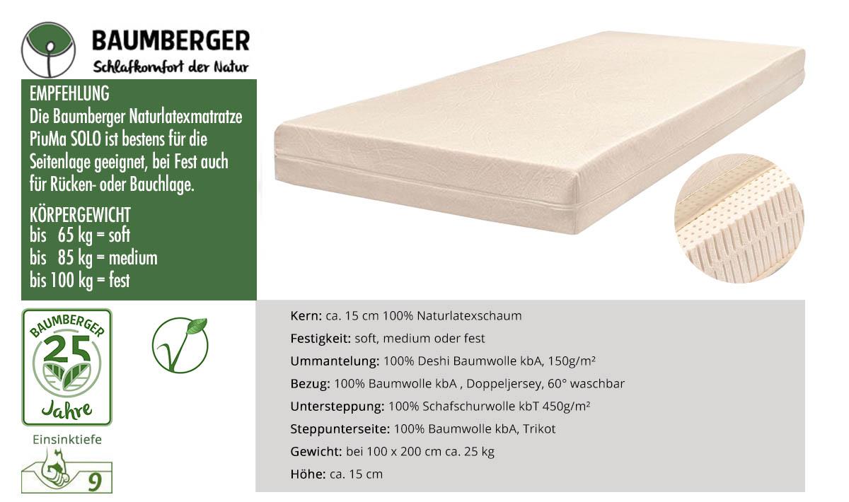 Baumberger-Piuma-Solo-Naturlatexmatratze-online-kaufen