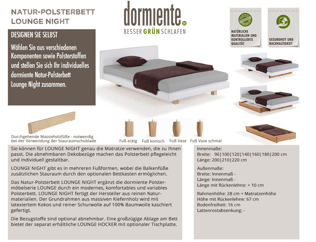 dormiente-Lounge-Night-Natur-Polsterbett