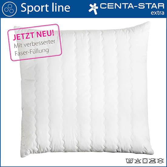 Centa-Star-Sport-Line-Kopfkissen-gesteppt-Detailansicht-Kissengroeasse-80x80-cm