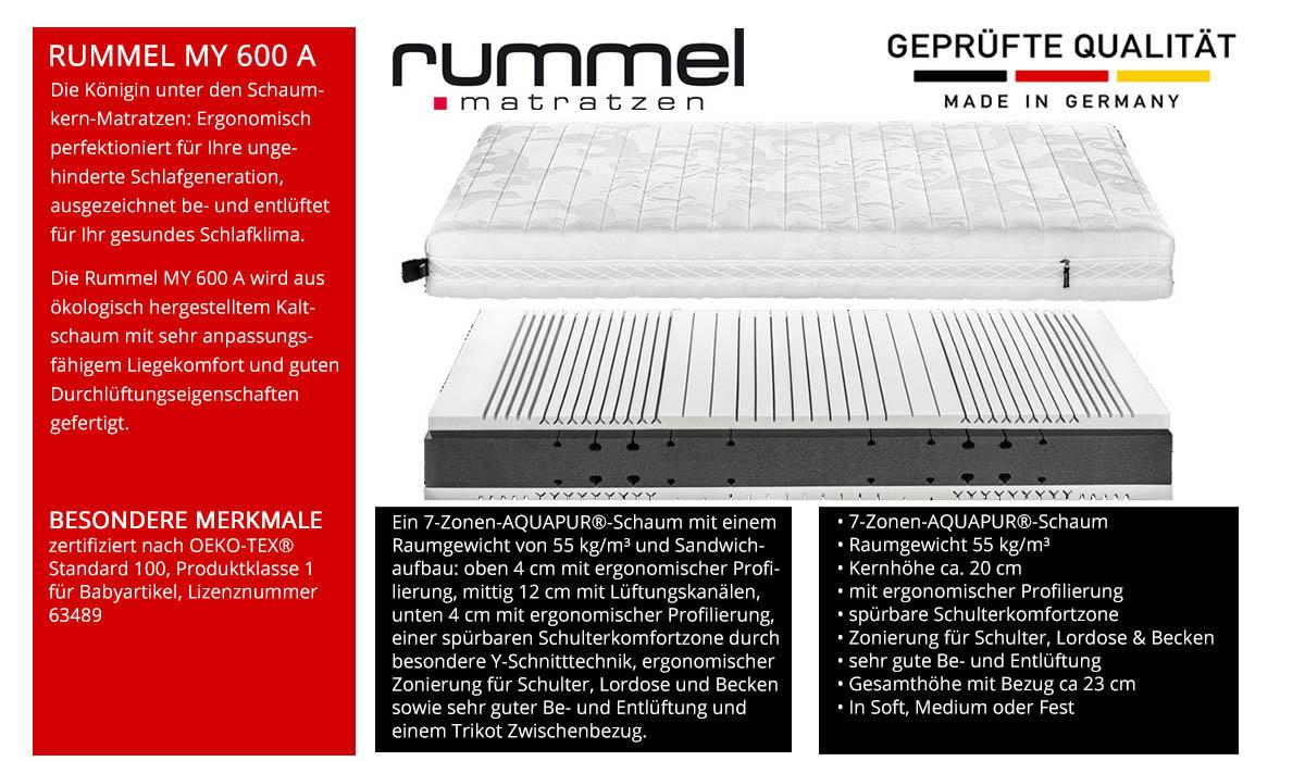 Rummel-MY-600-A-Schaummatratze-online-kaufen