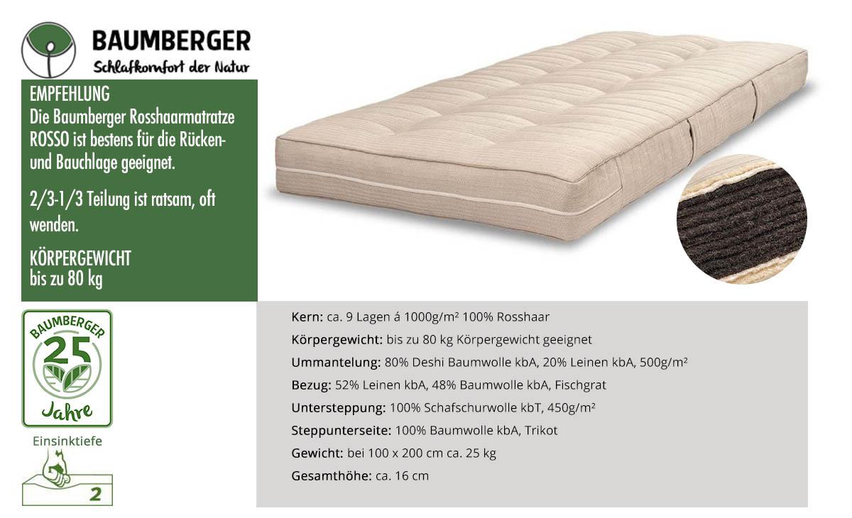 Baumberger-Rosso-Rosshaarmatratze-online-bestellen