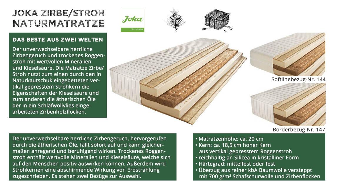 Joka-Natur-Naturmatratze-Zirbe-Stroh-kaufen