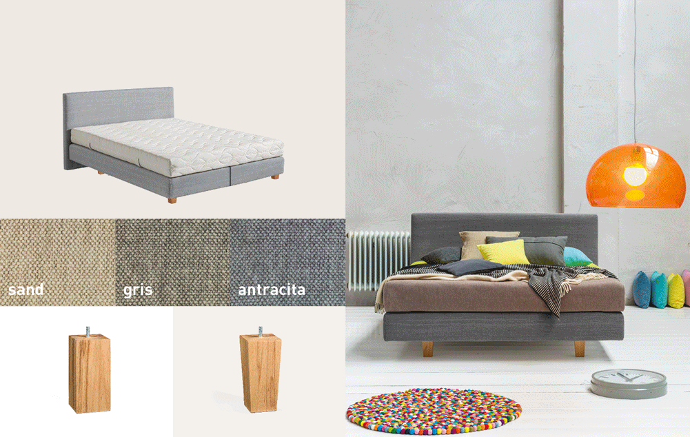 Dormiente-Natural-Boxspringbett-Vega-Sonderedition-Collage