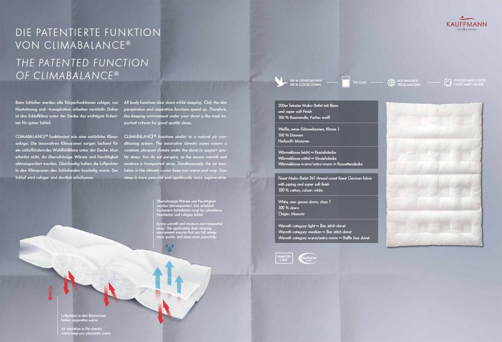 Kauffmann-Climabalance-Daunendecke-Patentierte-Funktion-von-Climabalance