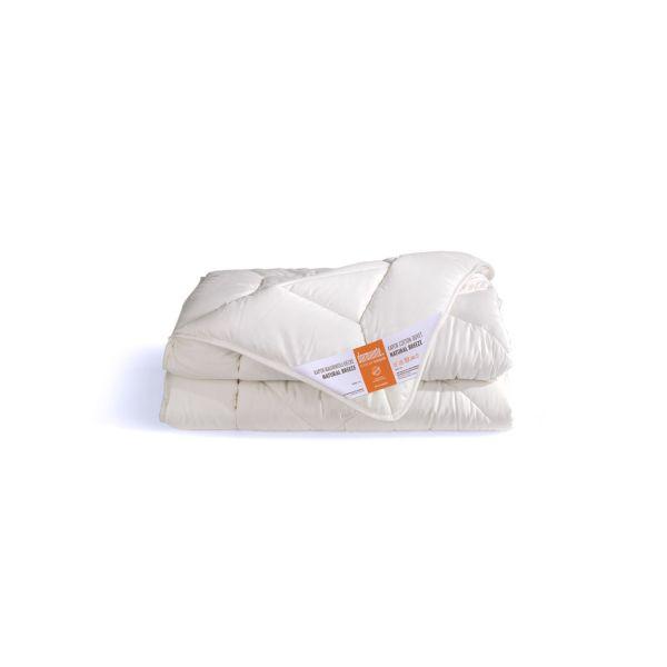 Dormiente Natural Kids Kapokbaumwoll-Decke Natural Breeze