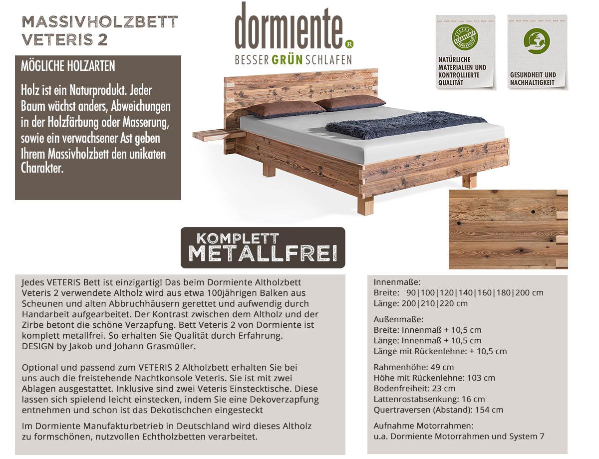 Dormiente-Massivholzbett-Veteris-2-inklusive-Einstecktische