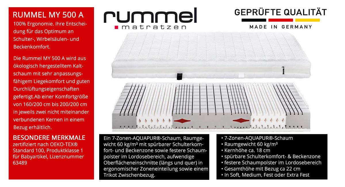 Rummel-MY-500-A-Schaummatratze-online-kaufen