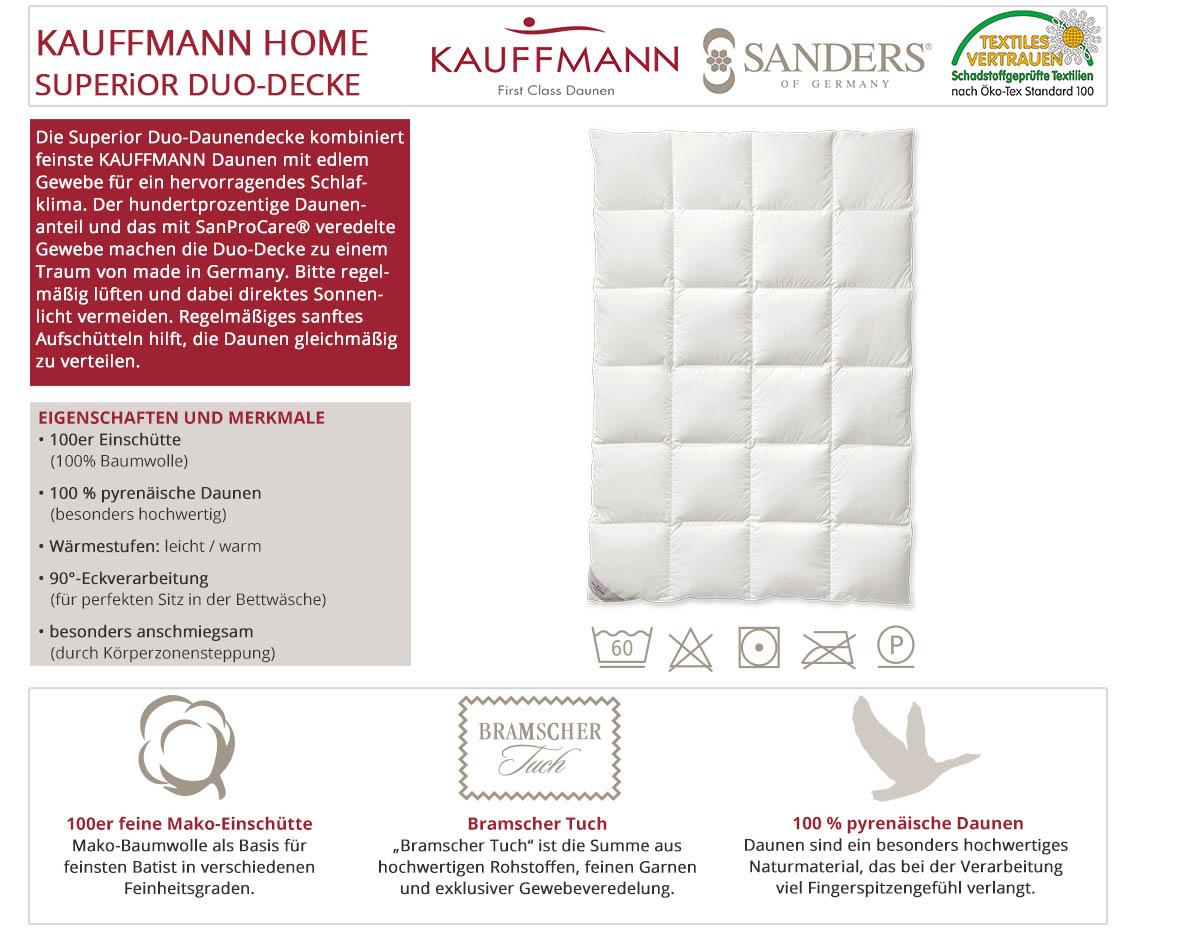 Kauffmann-Sanders-Home-Superior-Duo-Daunendecke-online-kaufen
