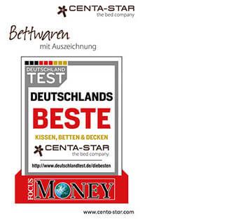 Centa-Star-Bettwaren-Auszeichnung