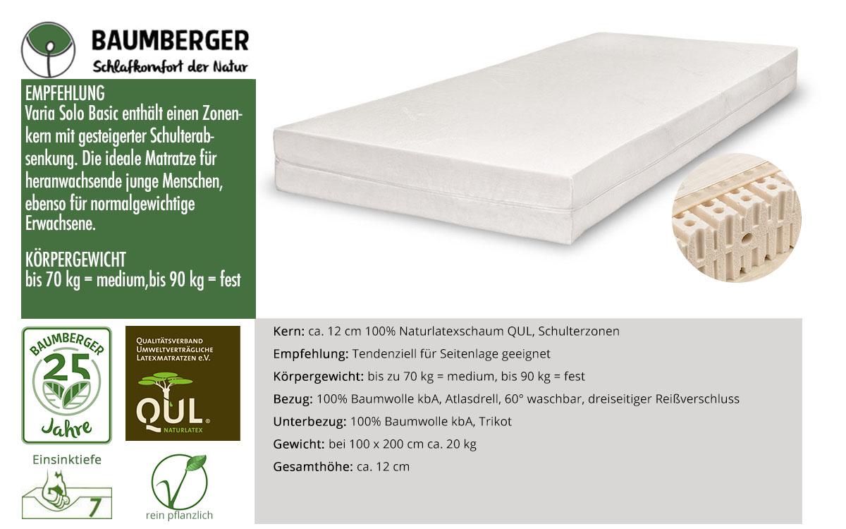 Baumberger-Varia-Solo-Basic-Naturlatexmatratze-online-kaufen