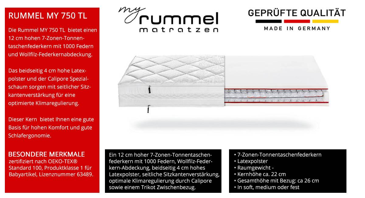 Rummel-MY-750-TL-Taschenfederkernmatratze-7-Zonen-kaufen