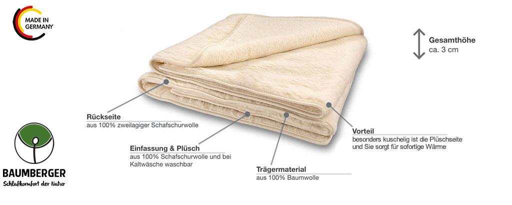 Baumberger-Duo-Decke-Wollpluesch-Produktmerkmale-Details