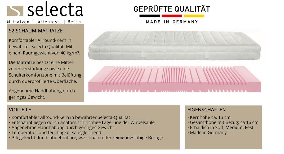 Selecta-S2-Schaum-Matratze-online-kaufen
