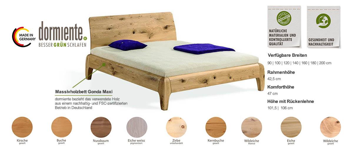 Dormiente-Massivholzbett-Gonda-Maxi-Produktmerkmale