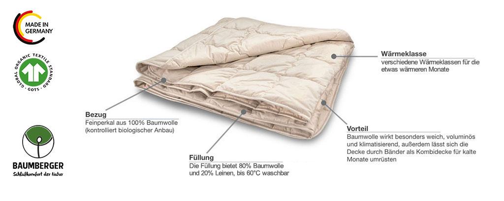 Baumberger-Bale-Bettdecke-leichte-Steppdecke-Produktmerkmale-Details