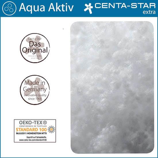 Centa-Star-Aqua-Aktiv-Kopfkissen-ungesteppt-Fuellung