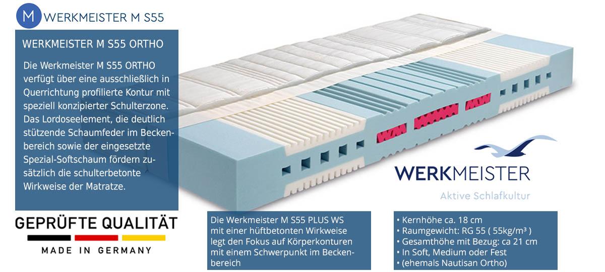 Werkmeister-M-S55-Ortho-Komfortschaummatratze-100-Tage-testen